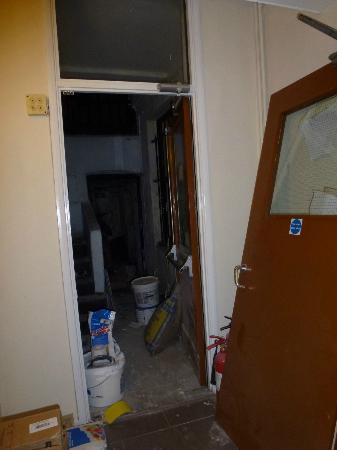 Barkston Rooms: couloir sous-sol