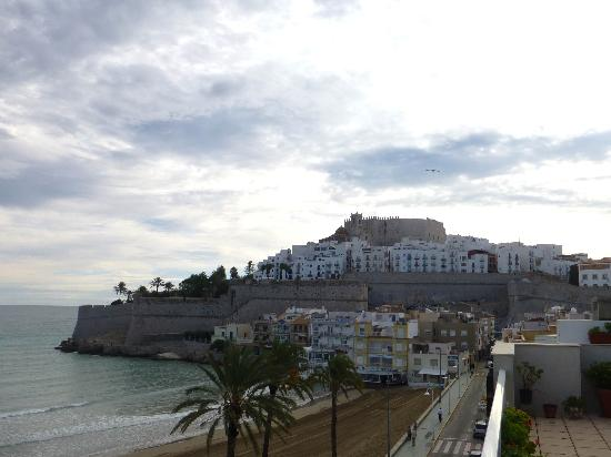 Mare Nostrum: The fort as seen from the hotel terrace