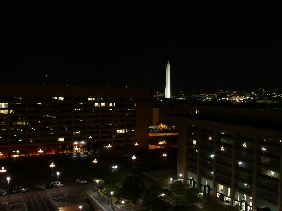 L'Enfant Plaza Hotel: view from the balcony