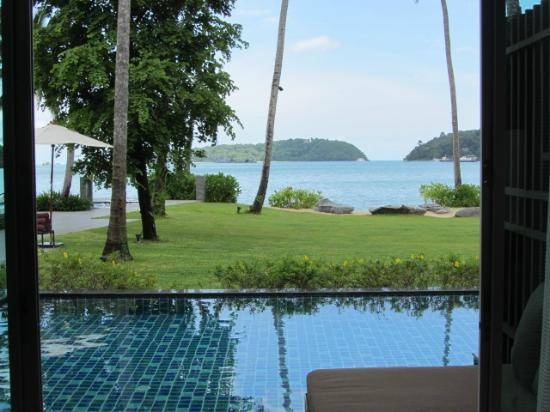 Phuket Panwa Beachfront Resort: Andaman Loft Pool Suite View