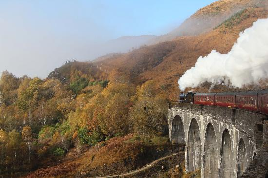 West Highland Line: Crossing Glenfinnan Viaduct
