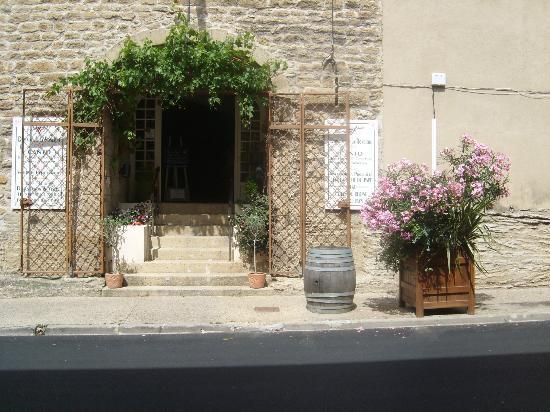 Domaine De La Ronciere: LE CAVEAU