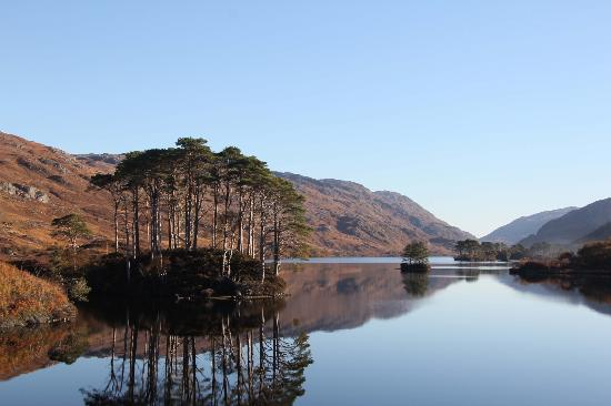 West Highland Line: Loch Eilt - from the train
