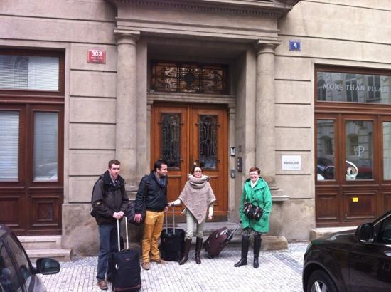 Prague City Apartments Residence Karolina: ingang van appartement