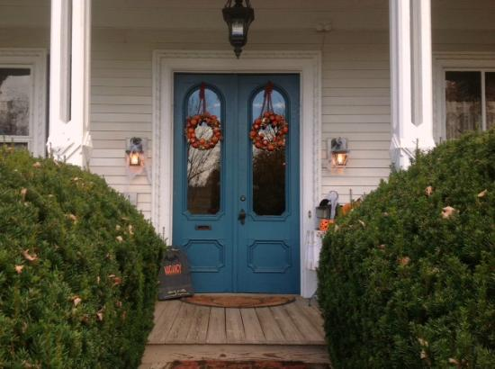 Second Street Bed & Breakfast : Front porch