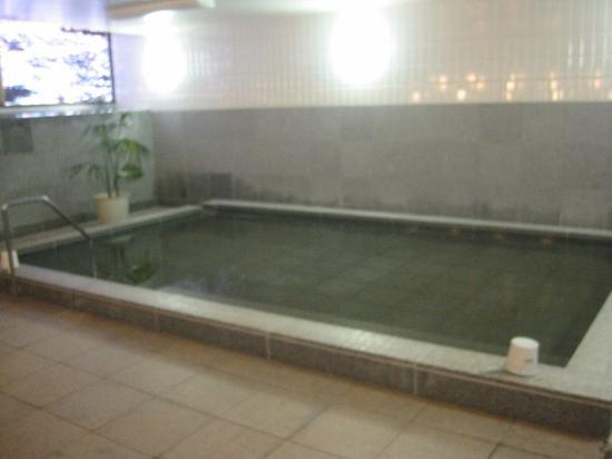 Hotel Hokke Club Hakodate : 十分寛げる大浴槽