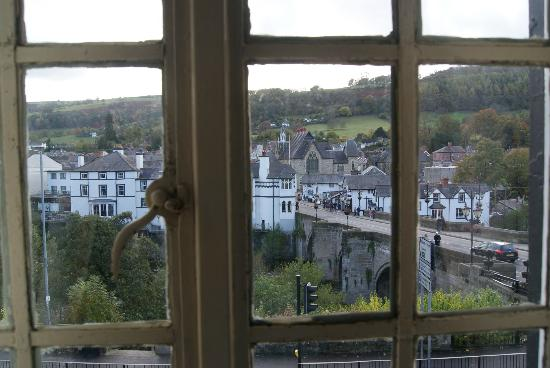 Bridge End Hotel : View from Room 10 window