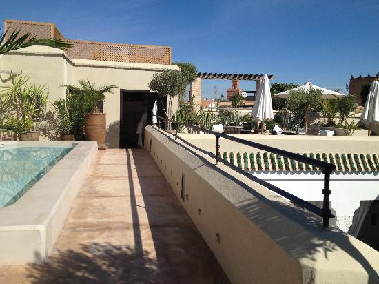 Riad Camilia: terrasse ensoleillée