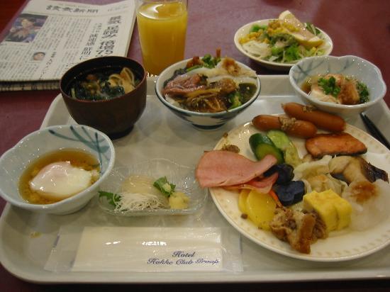 Hotel Hokke Club Hakodate : ホテルの美味しい朝食バイキング