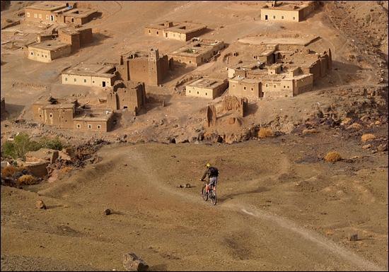 Imlil, Morocco: Mountain Bike