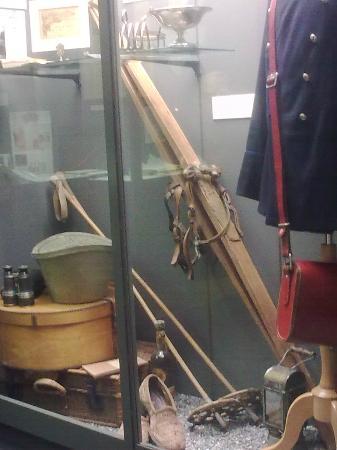 In the Sherlock Holmes Museum