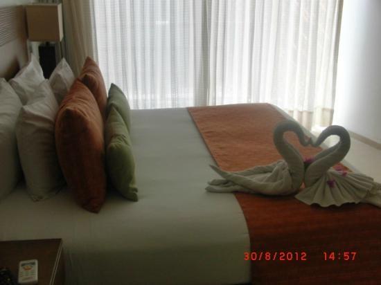 Koox Quinto Sole Boutique Hotel: Nuestra habitacion por 10 noches .