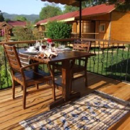 Yeldegirmeni Bungalow Evleri: Your private terrace