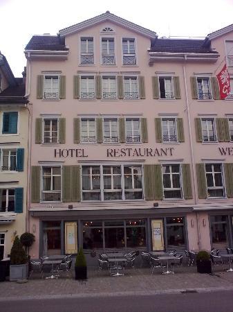 Hotel Weisses Roessli : Hotel Weisses Rossli