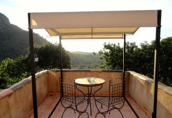 Finca Hotel Albellons Parc Natural: Terrace