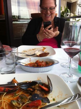 Garden da Nino : fine pasto in allegria