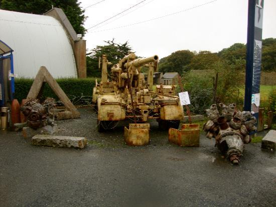 D-Day Beaches (Plages du Debarquement de la Bataille de Normandie): Machinery used in WW2