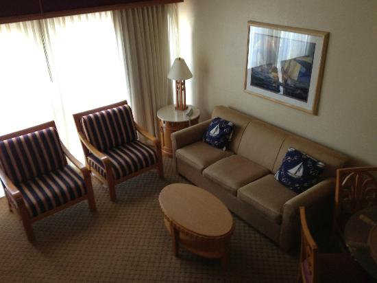 The Cove at Yarmouth: First floor living room!