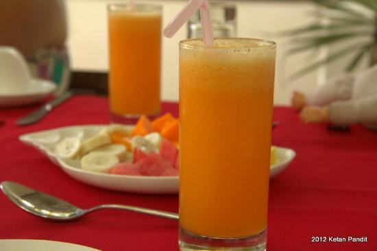 Marari Villas: Part of Breakfast!