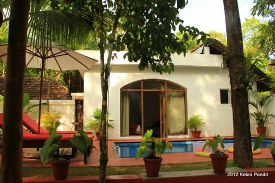 Marari Villas: the Villa