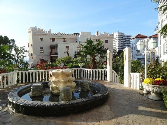 Hotel Miramar: Hotelgelände