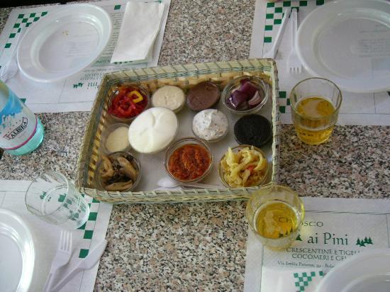 Chiosco Ai Pini : salsine salate e dolci