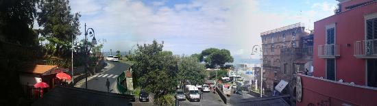 Hotel il Faro: Blick von der Veranda