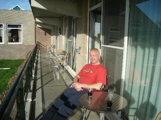 Van der Valk Hotel Volendam: Genieten van een sigaartje met een glaasje wijn