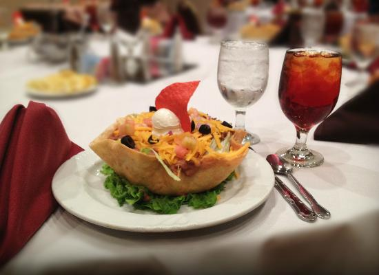 Magnuson Hotel and Meridian Convention Center: Taco Salad Lunch Plate