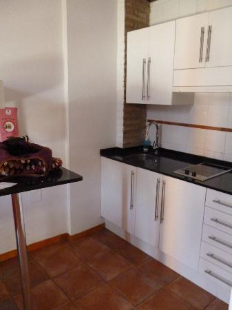 Apartamentos Botanico 29: Kitchen