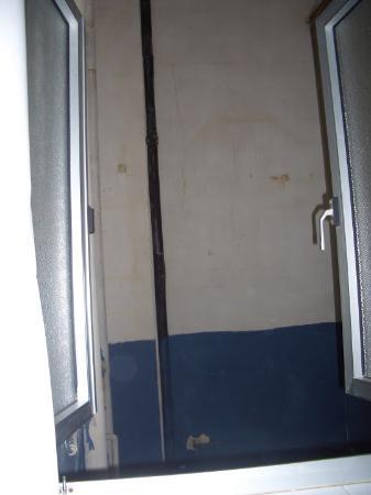 Europa Hotel: Ausblick aus dem Fenster