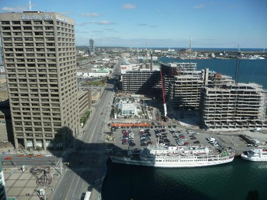 The Westin Harbour Castle, Toronto: View from room at 28th floor.