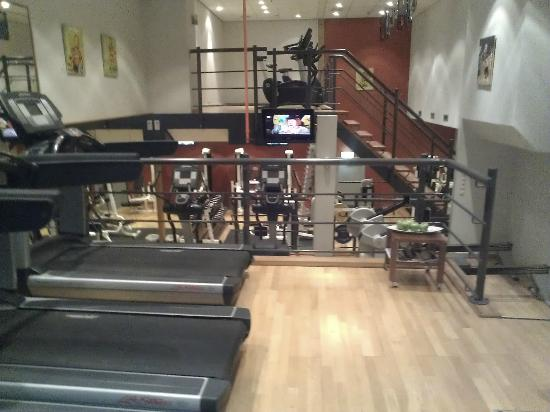Amsterdam Marriott Hotel: The Gym