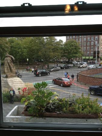 Stepping Stone Inn: View of Roger Conant from the room.