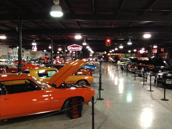 Muscle Car Museum Severville Tn Picture Of Floyd Garrett S Muscle