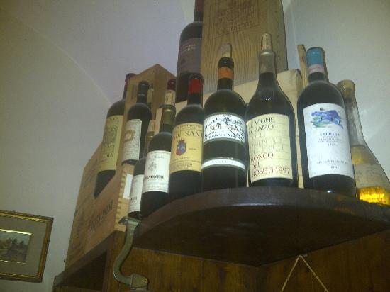 Ristorante Galileo : Particolare dei vini