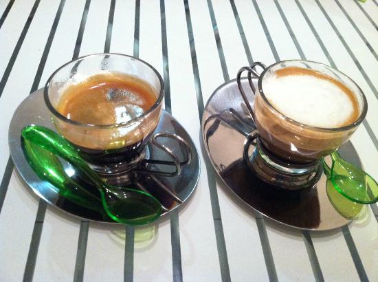 Coffee Stop: Double and a macchiato