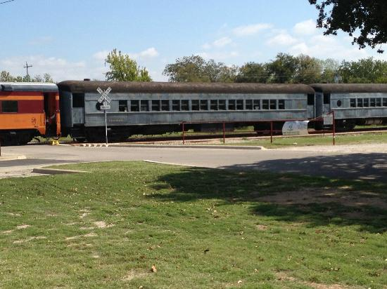 Austin Steam Train: Train car