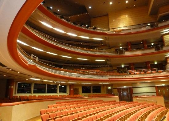 Symphony Hall: Inside the Hall, looking to the rear