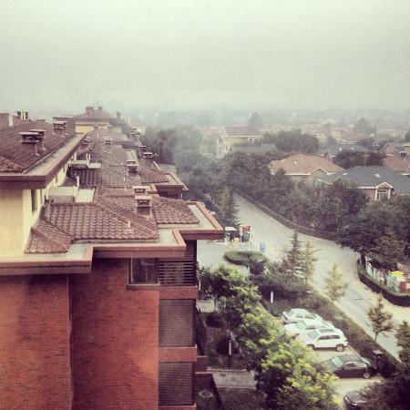 Ramada Beijing North: View from my window