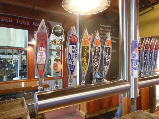 New Belgium Brewing: Tap Handles