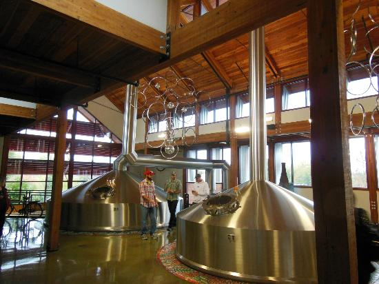 New Belgium Brewing: Brewhouse