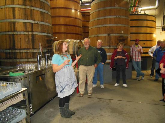 New Belgium Brewing: Aging Room-Largest barrel aging program outside Belgium.