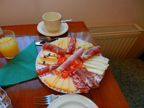 Red Setter Townhouse B&B: Scrumptious breakfast