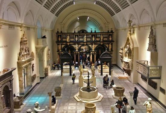 V&A Museum .. Interior  (51126637)