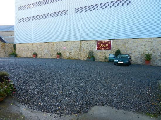 Red Setter Townhouse B&B : Car park