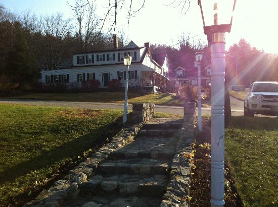Christmas Farm Inn & Spa: view from parking lot/ play area