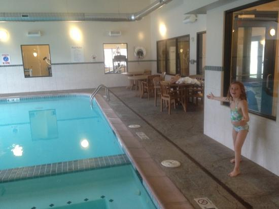 Holiday Inn Steamboat Springs : nice indoor pool and hot tub