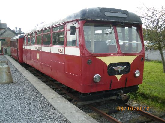 Cavan & Leitrim Railway: Uses for an old bus