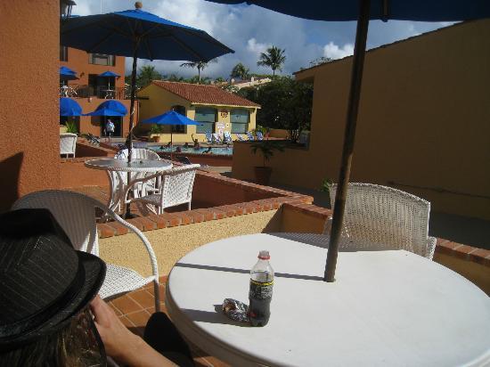 Park Royal Puerto Rico at Club Cala: The patio